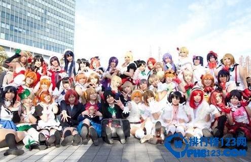 2014日本动漫cosplay人物排行榜