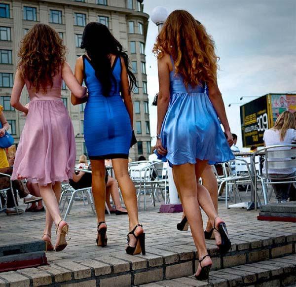"""全球美女最多的国家 乌克兰基普成""""美女之都"""""""