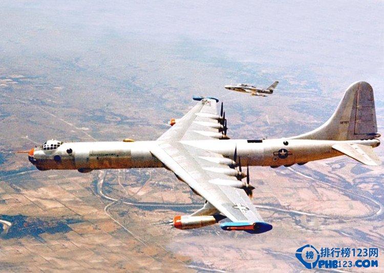 世界上最大的轰炸机b36轰炸机