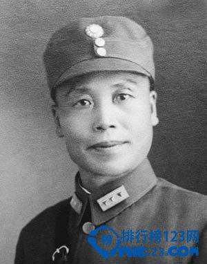 国民党抗战十大名将之李宗仁将军