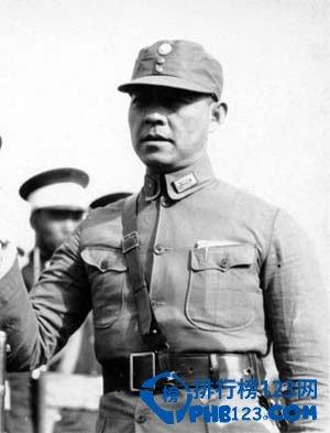 国民党抗战十大名将之张自忠将军