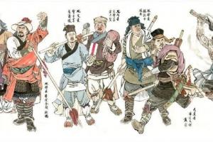 水浒传108将中最菜的10位人物排行榜