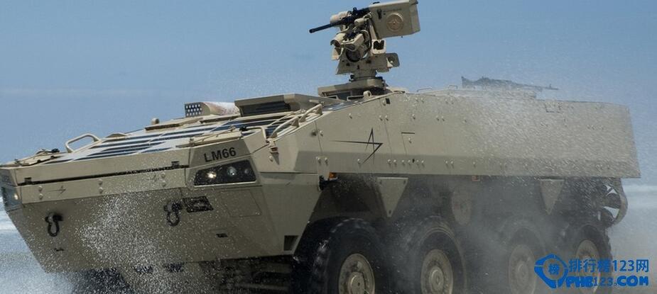 速度快机动性强作战半径大全天候作战可以说这是它的优点,在巷战和城市作战中它绝对是首选,美国的作战部队从海湾战争到现在绝大多数用的都是轮式装甲车,里面的配置也是越来越先进,不光有先进的通讯系统和侦查系统!还有就是在伊拉克战中他们的轮式装甲车还配置了一种可以通过高科技手段来辨别敌方射击人员射击时的方向和位置!从而能快速的找到敌人并与之消灭敌人保存自己,可是说现在的武装装甲车那是越来越先进!而且作用也越来越大。