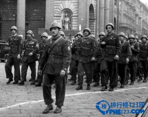 二战时期各个国家战斗力排行,中国竟排倒数第二