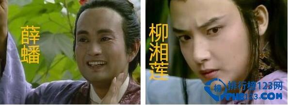 排行榜 第七名:薛蟠 柳湘莲