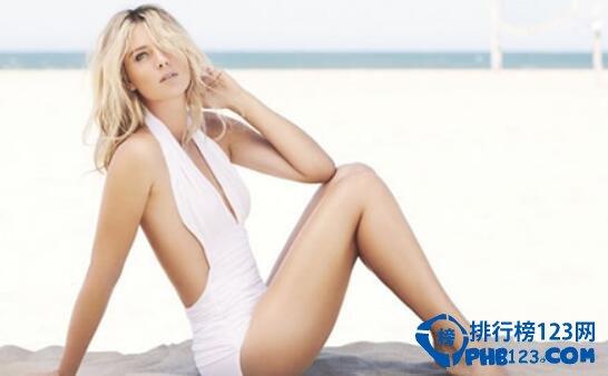 世界体坛上最美运动员,莎拉波娃如此性感美丽!