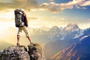 世界上最高的山峰:珠穆朗玛峰(海拔8844.43米)