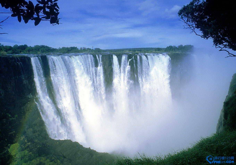 非洲最大的瀑布 世界上最大、最美丽和最壮观的瀑布之一