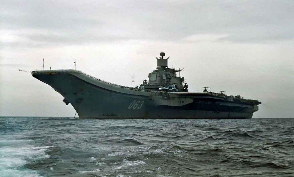 俄罗斯有多少艘航母?俄罗斯航母数量为1台