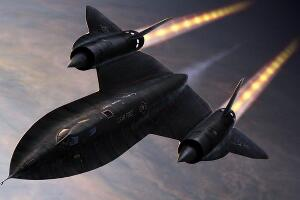世界上速度最快的飞机,SR-71黑鸟侦察机(快过导弹)