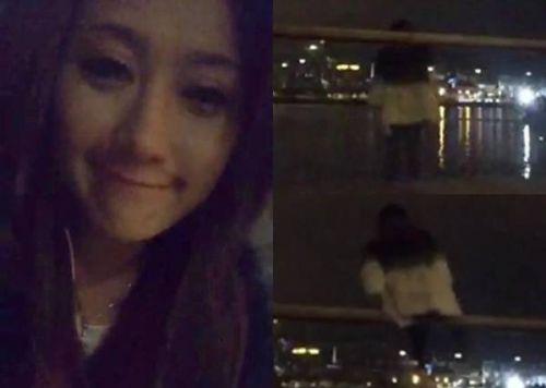 香港模特伍淑怡个人资料背景照片 直播跳海自杀(图)