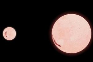 世界上最小的恒星,EBLM J0555-57Ab(质量仅够承受核聚变过程)