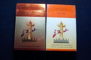 江山烟价格和图片,江山香烟价格排行榜(共4种)