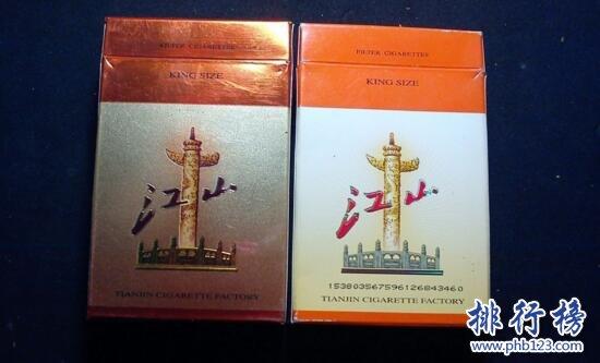 江山烟价格和图片,江山香烟价格排行榜(共4种)。