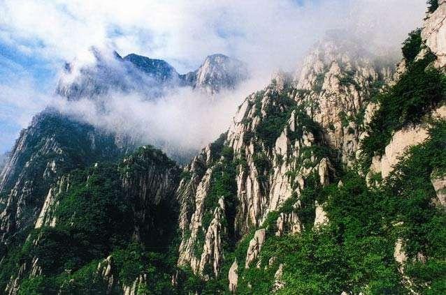 中国五大名山排行榜:我国五大名山哪个最高