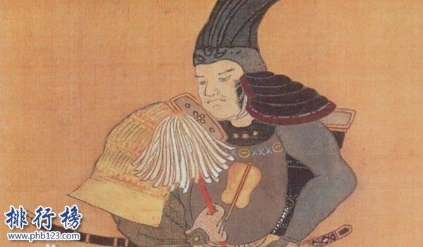 日本战国十大名将排名 织田信长踏平天下险些统一日本