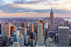 美国最大的城市:纽约(面积、人口、GDP均为全美第一)