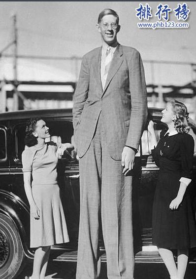 世界十大巨人排行榜:第七位女子比姚明还高29厘米
