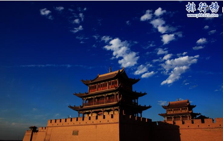 中国四大名关:山海关为长城起点,潼关是西北之咽