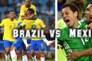 巴西VS墨西哥历史战绩,巴西VS墨西哥比分记录一览表