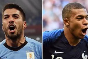 乌拉圭VS法国历史战绩,法国VS乌拉圭历史比分胜率一览表