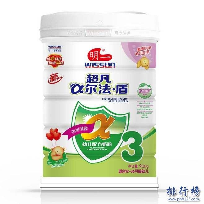 十大放心奶粉品牌是什么?国产十大放心奶粉品牌排行推荐