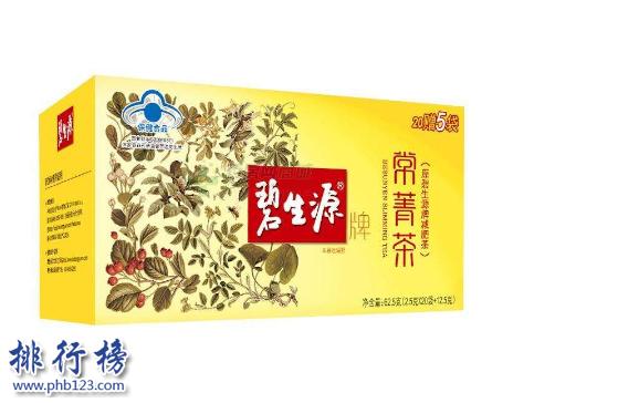 减肥去脂肪茶推荐:2018减肥茶排行榜前10强