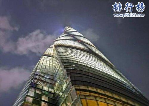 2018年中国十大高楼,第一高达632米!