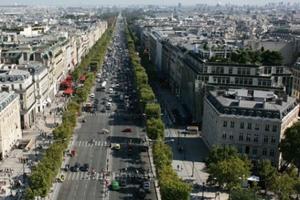 世界十大著名林荫大道,第一来自巴黎美丽无比