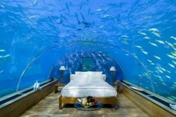 世界顶级水下酒店盘点:潜艇酒店一晚149万元