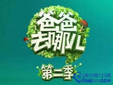 2014综艺节目收视率排行榜