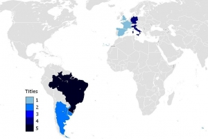 「完整」历届世界杯冠军次数排名,附亚季军次数排名及交锋历史