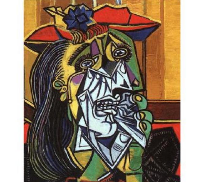 毕加索十大名画,《画家与模特》上榜,一般人看不懂