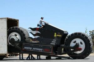 """盘点世界上最大的摩托车,澳大利亚""""摩托怪兽""""(重14吨)"""