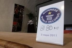 世界上最长的雪茄:81.80米