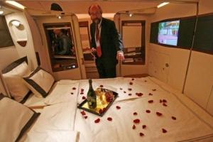 世界上最豪华的航空飞机头等舱