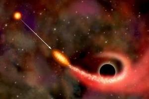 宇宙十大天文奇观 黑洞撕裂恒星