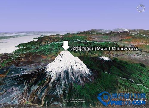 世界上距离地心第一远的高峰