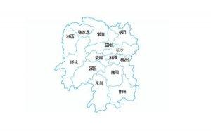 2018年湖南省各城市GDP排名,娄底市增速8.6%排名第一
